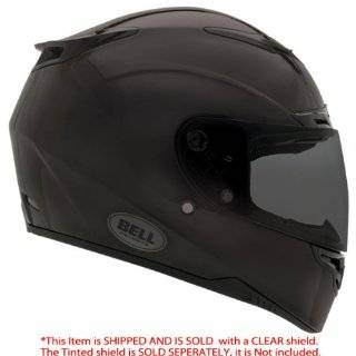 Bell RS 1 Matte Black Solid Full Face Motorcycle Helmet   Size