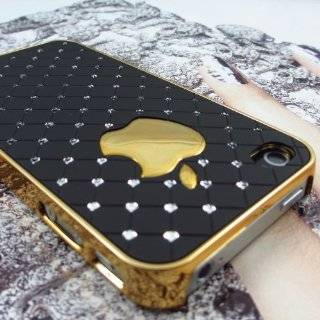 Luxury Silver Gold Real Brushed Metal Back Hard Case Cover