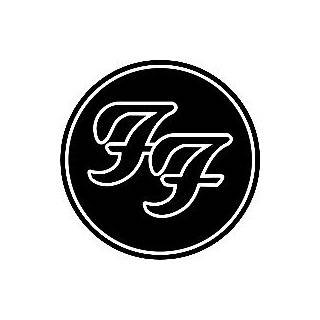 foo fighters round ff logo on popscreen