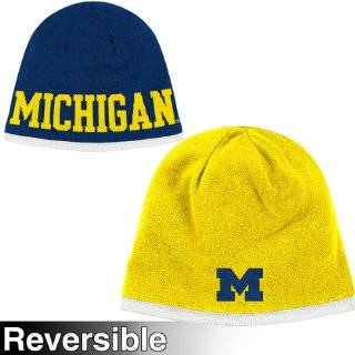 Michigan Adidas Adidas Official Team Knit Beanie Hat Toque