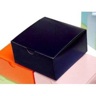 100 4x4x2 Cake Wedding Favors Boxes with Tuck Top