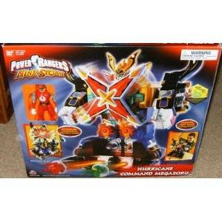Hurricane Command Megazord Power Rangers Ninja Storm Electronic Action