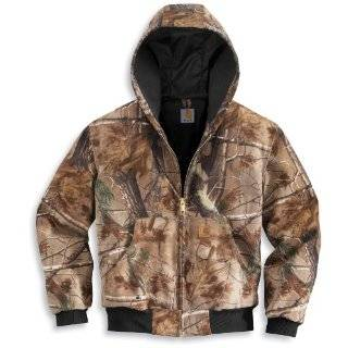 Carhartt Mens Big Work Camo Active Jacket, Camo, 3X Large/Regular