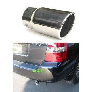 Stainless steel exhaust tip w/ mirror chrome finish  Toyota Highlander