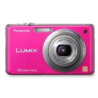 Hot Pink Digital Camera Case Bag for Panasonic Luminex DMC ZR3 ZR1 TS2