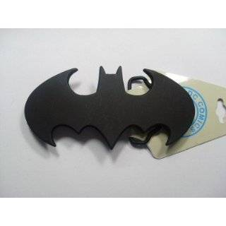 Official Licensed BATMAN Logo Belt Buckle Silver Black NWT
