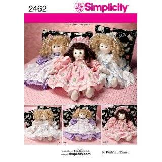 Vogue Crafts Rag Dolls Sewing Pattern # 8925 Arts, Crafts & Sewing