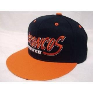 NEW Denver Broncos NFL Two Tone Vintage Snapback Flatbill Cap / Hat