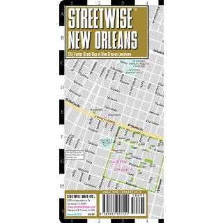 Streetwise New Orleans Map   Laminated City Center …