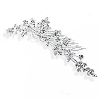 Bridal Comb Headpiece Couture Rhinestone Hair Comb Beauty