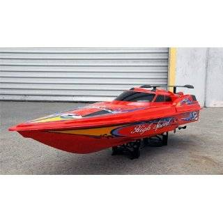 RC RADIO CONTROL SPEED BOAT RACE BOAT HUGE 45 High Speed Remote