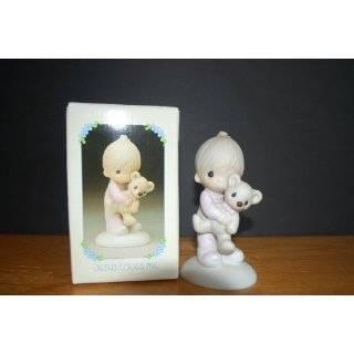 1978 Precious Moments Signed Jesus Loves Me Figurine E1372/B