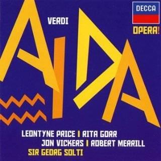 : Guiseppe Verdi: Aida: Giuseppe Verdi, Alberto Erede, Renata Tebaldi