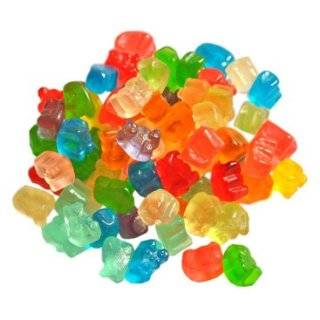 Albanese 12 Flavor Assorted Gummi Bears, Fat Free, 5 Pound Bags (Pack