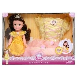 My First Disney Princess Belle Doll and Toddler Dress Set