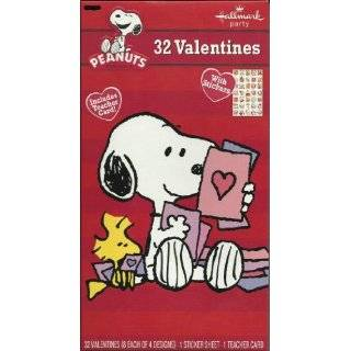 Peanuts Snoopy Valentine Cards for Kids Health & Personal