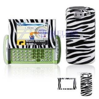 UT QuickFire GTX75 Cell Phone Black/White Zebra Design Protective Case