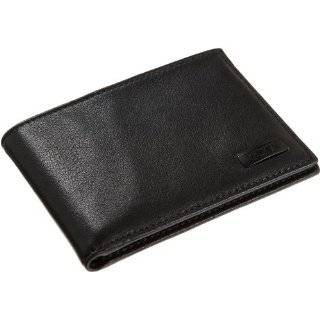 Tumi T Tech Black Leather Mens Wallet W/Case Everything