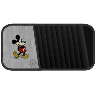 Vintage Mickey Mouse Style CD/DVD Visor Organizer by Plasticolor