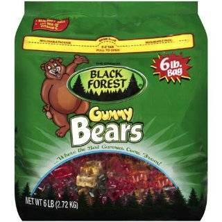 Black Forest Gummy Bears, 6lb. bag  Grocery & Gourmet Food