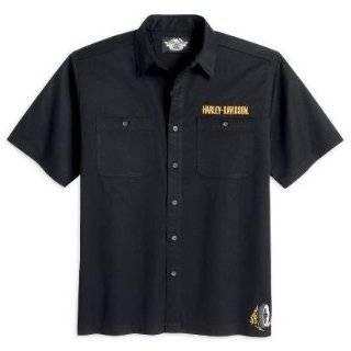 Harley Davidson® Willie G.® Skull Short Sleeve Garage Shirt