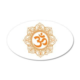 Asia Gifts > Asia Wall Decals > OM   OHM   AUM SYMBOL 35x21 Oval Wall