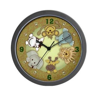 Kiss The Pig animal wall clock by savethepig