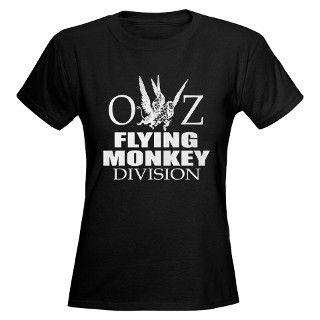 > Actor T shirts > OZ Flying Monkey Division Womens Dark T Shirt
