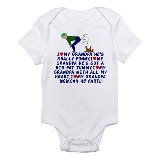Baby Gifts > Baby Baby Clothing > I love Grandpa Infant Bodysuit