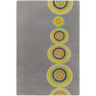 Hand tufted Contemporary Multi Colored Circles Geometric Seriah New