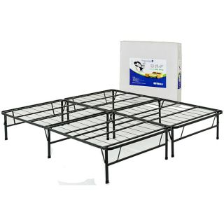 Mantua Java Brown California King size Metal Bed Frame