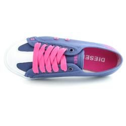 Diesel Tejido Womens Purple Sneaker Shoes