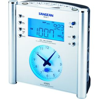 Sangean RCR 1 Atomic Clock Radio