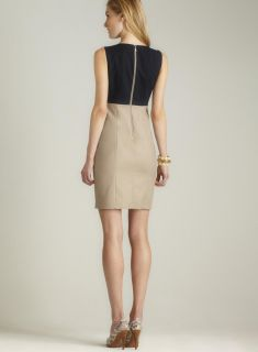 Tahari Tracey Colorblock Dress