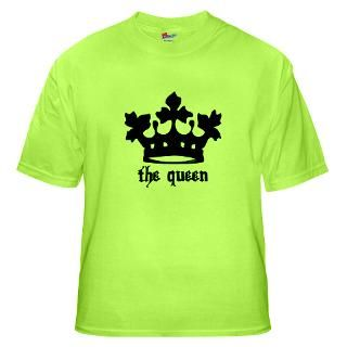 Medieval Queen Black Crown Maternity Dark T Shirt