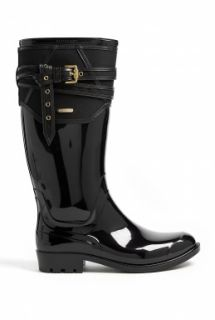 Burberry Shoes & Accessories  Willesden Bimaterial Rain Boots by Burberry Shoes & Accessories