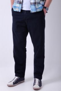 Navy Soft Cotton Twill Chinos by Universal Works   Navy   Buy Trousers Online