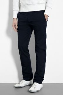 Burberry Brit  Navy Straight Leg Summer Chinos by Burberry Brit