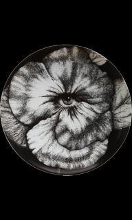 Fornasetti Theme & Variations Decorative Plate #92