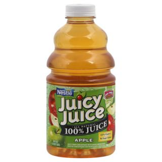 Juicy Juice 100% Juice   Apple   2 Bottles (46 fl oz ea)