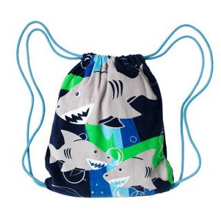 Capelli Hungry Sharks Beach Towel Backpack   Youth