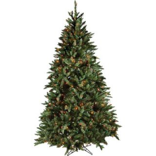 12 Foot Good Tidings Douglas Fir Pre Lit Christmas Tree with 2950