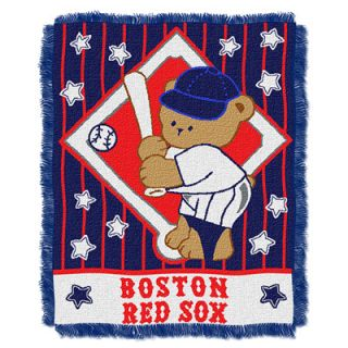 Boston Red Sox Baby Throw Blanket