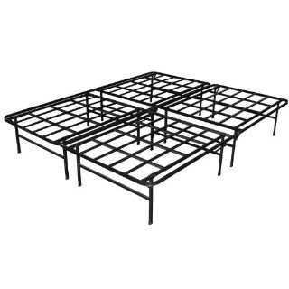 Sleep Master Elite Platform Metal Bed Frame/Mattress Foundation, Queen