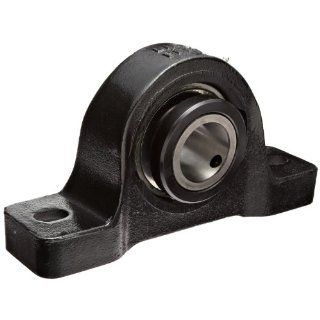 Link Belt PU327 Ball Bearing Pillow Block, 2 Bolt Holes, Heavy Duty