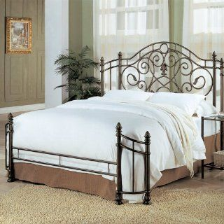 Romantico Queen Iron Bed   Coaster 300161Q: Furniture