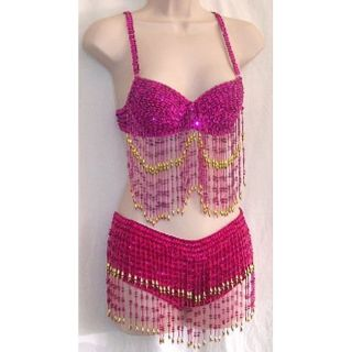 Bad Sushi Pink Belly Dancing Costume