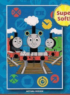 the Train & Friends Toddler Fleece Blanket Throw: Home & Kitchen