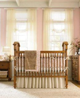 Wendy Bellissimo Pink Swirl 3 Pc Crib Bedding Set: Baby