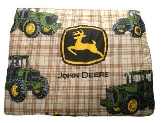John Deere Bedding Traditional Tractor and Plaid